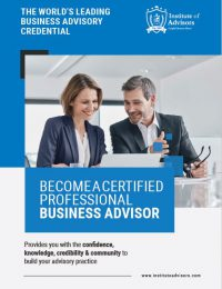 Business Advisory Certification Brochure